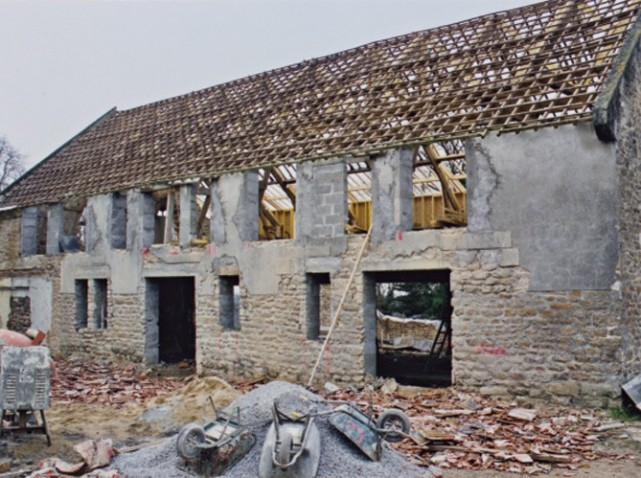 Long re r nov e vannes morbihan - Renovation maison avant apres travaux ...